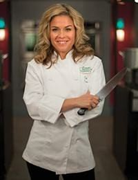 First Female Iron Chef America Cat Cora '95,