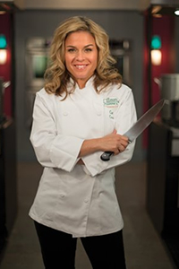 Cat Cora '95, Executive Chef for Bon Appétit