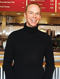 Steve Ells '90, founder and CEO of Chipotle Mexican Grill