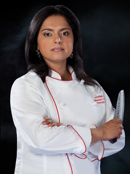 Maneet Chauhan '00, Executive Chef at Vermillion