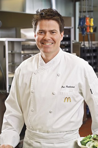 Dan Coudreaut '95, Director of Culinary Innovation at McDonald's, U.S.