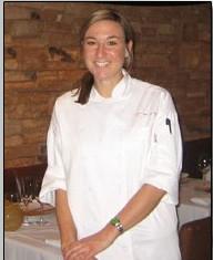 Nicolette Eyherabide '08, Pastry Cook at Fleur de Lys