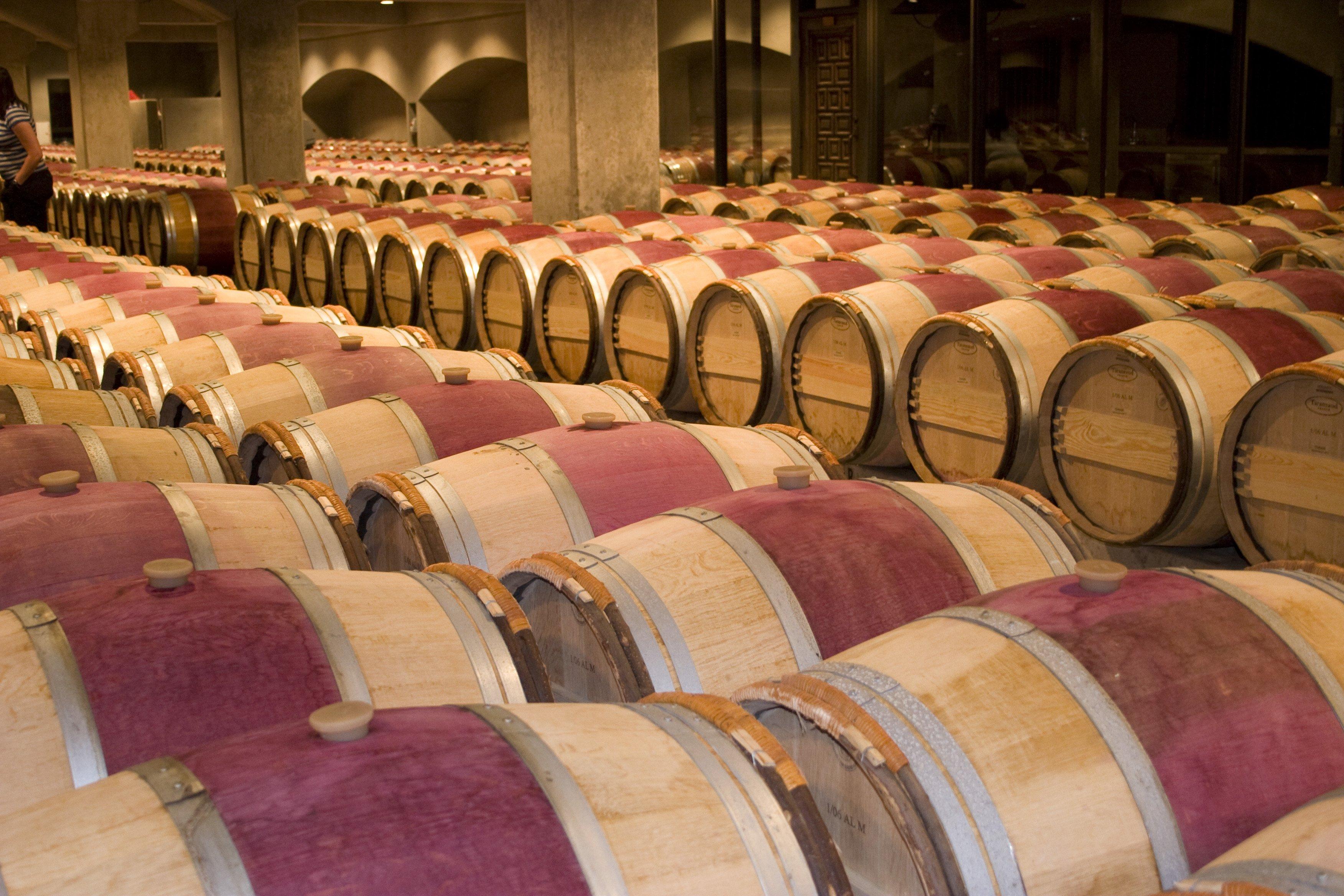Robert Mondavi winery in Oakville, CA