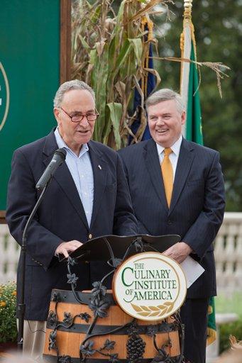 Senator Schumer at the CIA