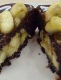 Gluten-Free Banana Fudge Cake