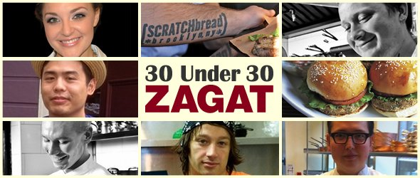 "Seven Grads Make ZAGAT'S ""30-Under-30"" LIST"