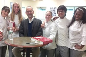 Culinary Science Expert Harold McGee Lectures at CIA