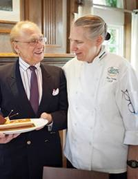 Legendary Pastry Chef Continues to Teach Undergraduates Every Day