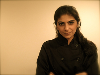 """You have a lifelong bond with everyone who goes through the CIA's program"" - Fatima Ali '11 Winner on Food Network's Chopped"