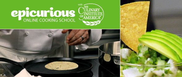 CIA and Epicurious Launch Online Cooking School With Free Class