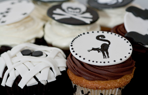 Haunting Halloween Cupcakes