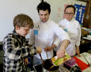 Teaching Slow Food to Fast Learners