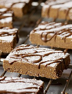 Chocolate Cappuccino Shortbread with Dark Chocolate Glaze