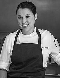 Chef Lauren DeSteno '06, Classmates from all over the World