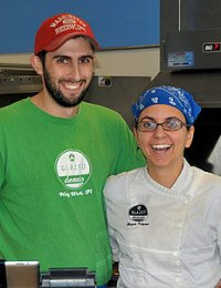 Jonathan Pidgeon '07 and Megan Mulhern Pidgeon '07, Chef/Owners, Glazed Donuts, CIA alumni