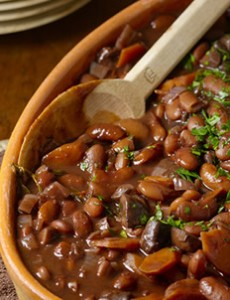 Bean Bourguignon recipe by The Culinary Institute of America