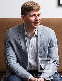 Jack Mason, Wine Director at Marta and culinary arts alumni from The Culinary Institute of America
