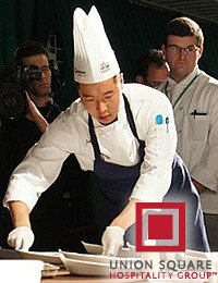 Junsoo Bae, Sous Chef at Gramercy Tavern and culinary arts alumni from The Culinary Institute of America