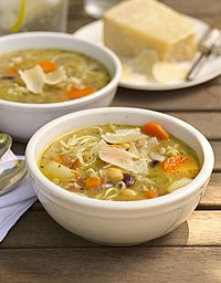 Minestrone recipe by The Culinary Institute of America