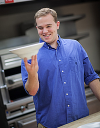 Patrick Lobbes, CIA student, Associate Degree in Culinary Arts