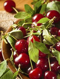 Tart Cherries in Bourbon