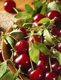 Tart Cherries in Bourbon