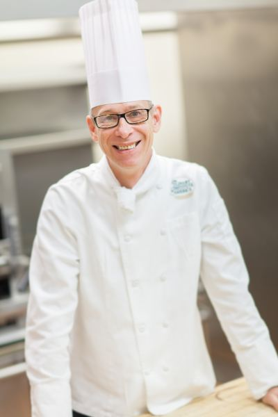 Chef instructor Martin Matysik