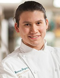 Hernan Angarita, culinary science student at The Culinary Institute of America