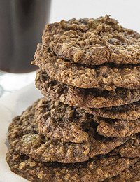 Chocolate Stout Oatmeal Cookies
