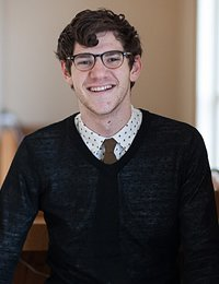 Connor White, applied food studies student at The Culinary Institute of America.