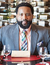 Jeremiah Swain, culinary arts student at The Culinary Institute of America.