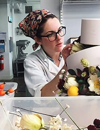 Pastry Chef Sarah Baldwin '06, Creating Beauty Everyday