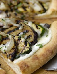 Roasted Vegetable Pizza Recipe