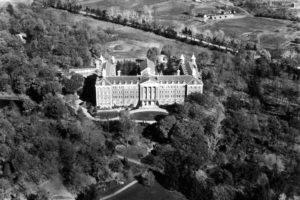 Aerial of Hyde Park Campus