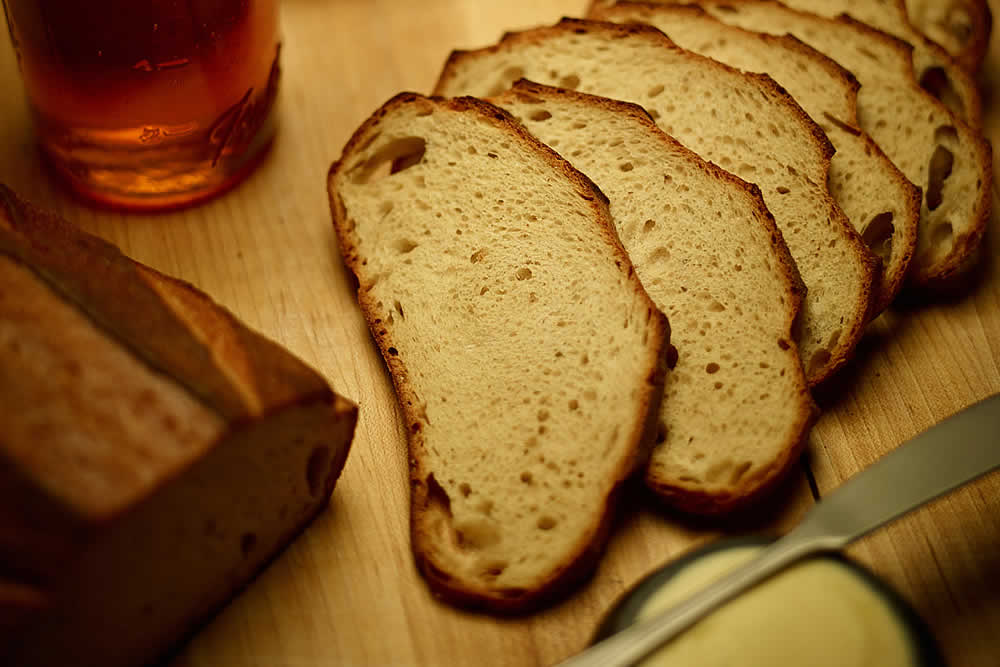 Beer bread recipe by The Culinary Institute of America.