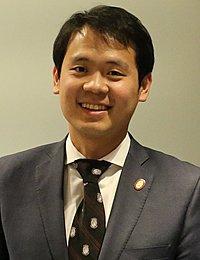 Kyungmoon Kim, CIA culinary arts alumni and master sommelier.