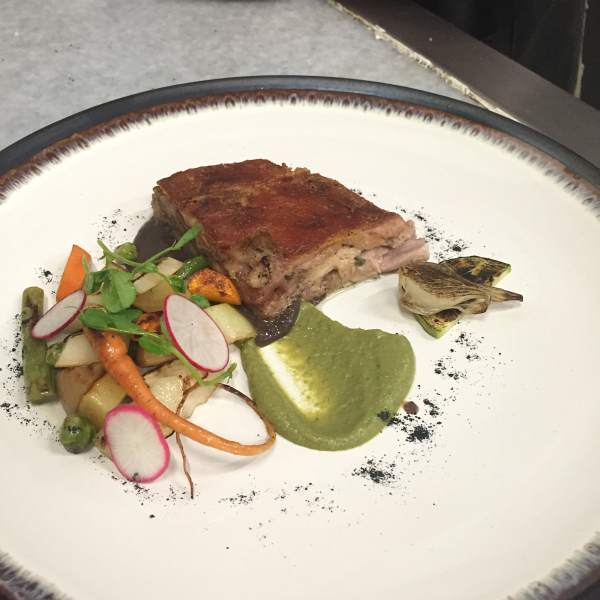 Origen pork dish