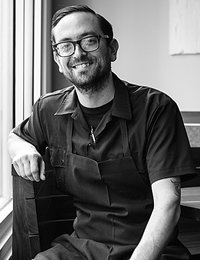 Yoni Levy, CIA culinary arts alumni and chef at Outerlands, San Francisco, CA.