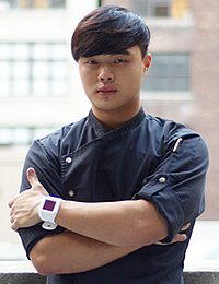 Deuki Hong '09, CIA associate degree culinary arts alum. Deuki is executive chef at Kang Ho Dong Baekjong in New York City