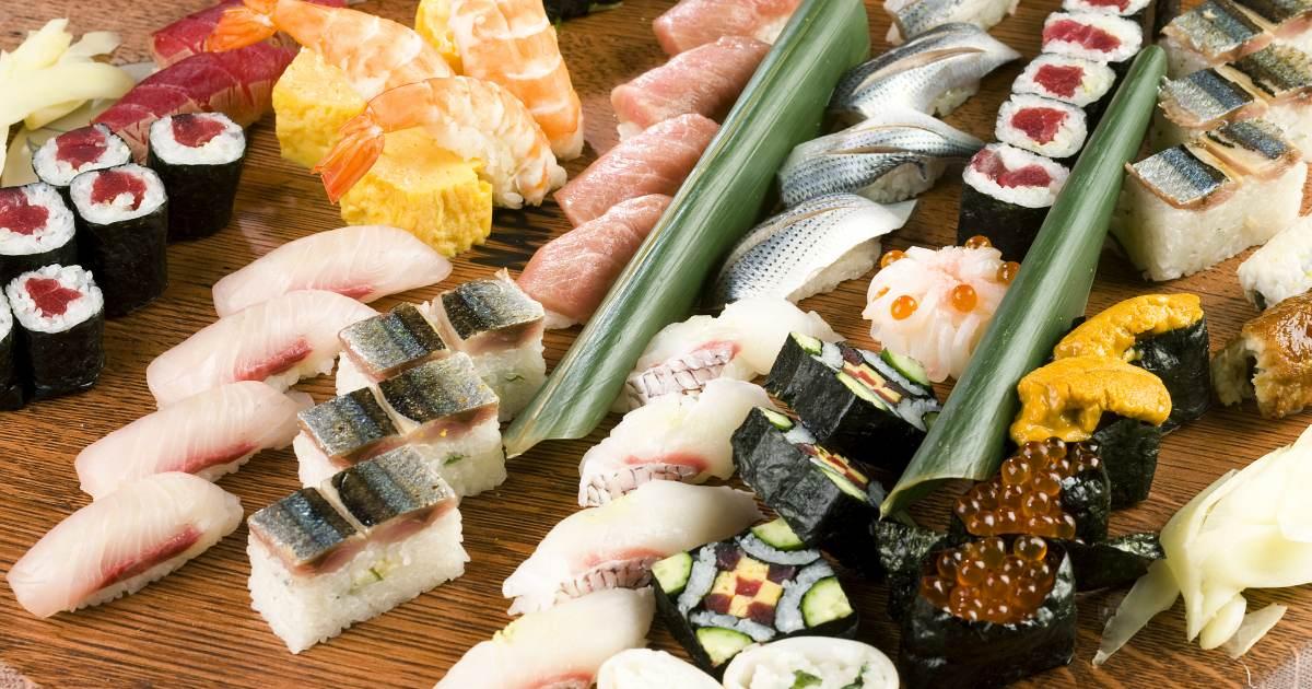 Sushi The Edible Art From Japan OG