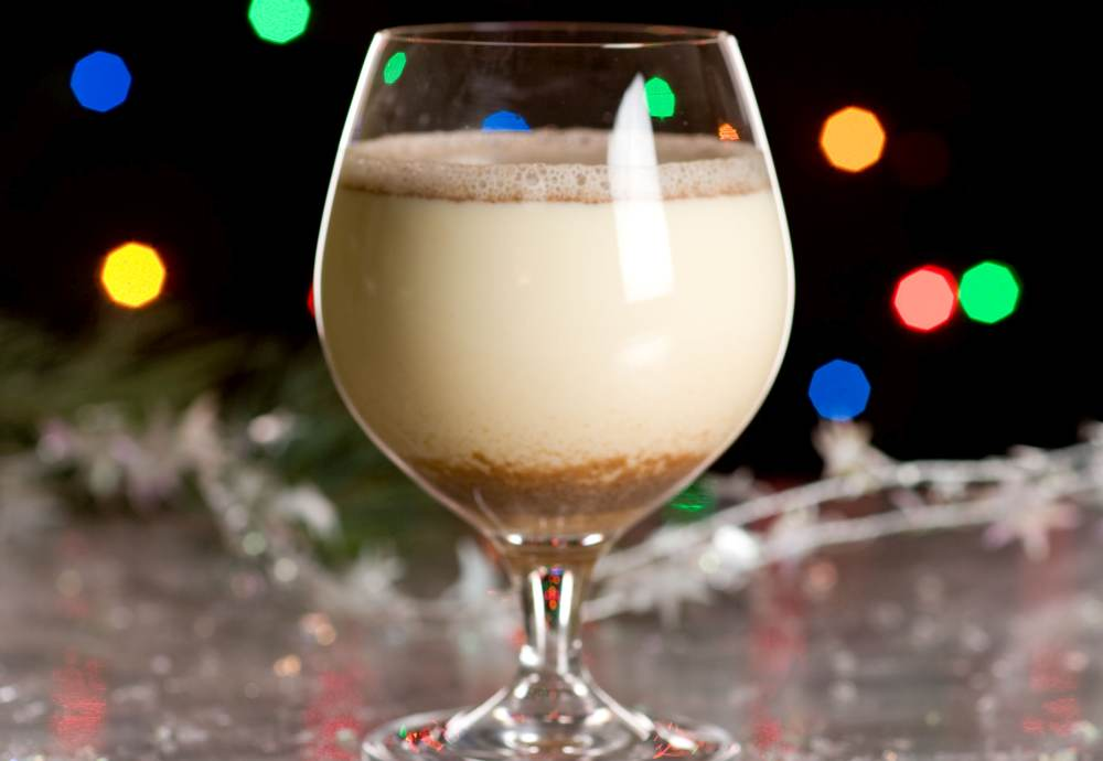 Holiday Cocktails and Mocktails Egg Nog
