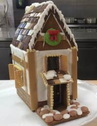 Gingerbread House Tips and a Pepperkaker Gingerbread Recipe