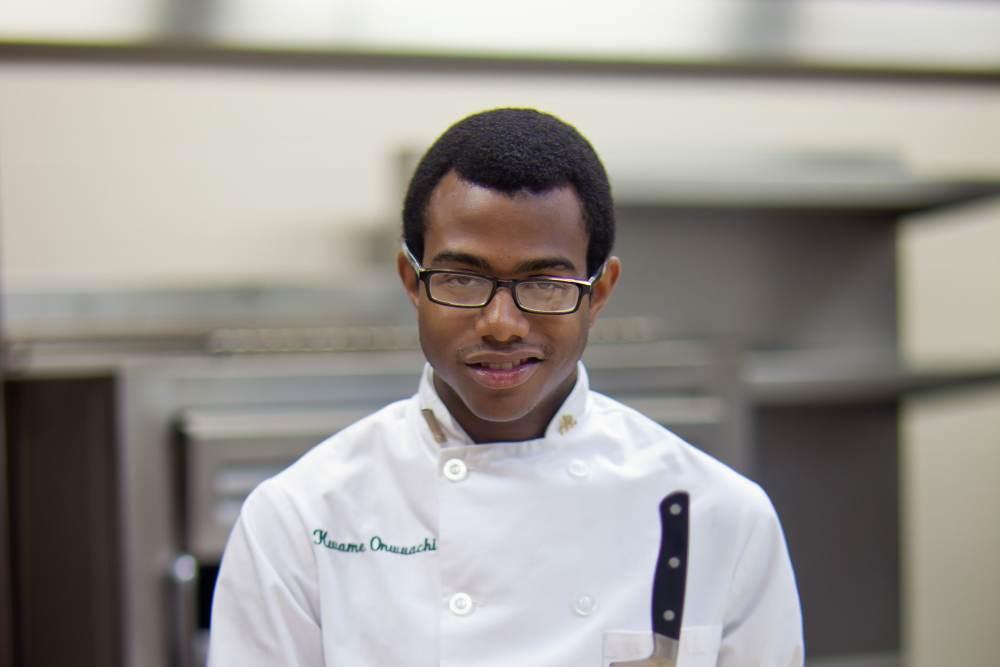 CIA student Kwame Onuwachi