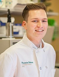 Alexander Telinde, culinary science bachelor's degree student at The Culinary Institute of America.