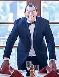 Louis Santiago is a culinary arts management bachelor's degree student at The Culinary Institute of America.