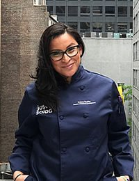 Chef Andrea Cuellar '07, School Food