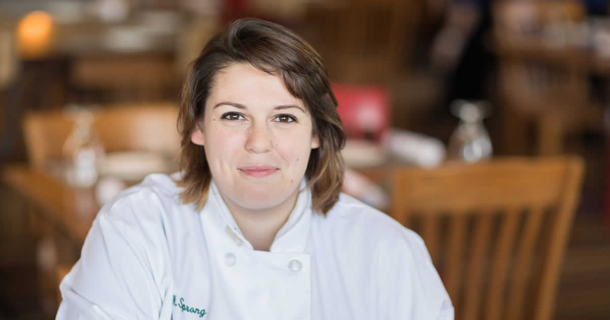 Read about Alison Sprong, culinary arts student at The Culinary Institute of America