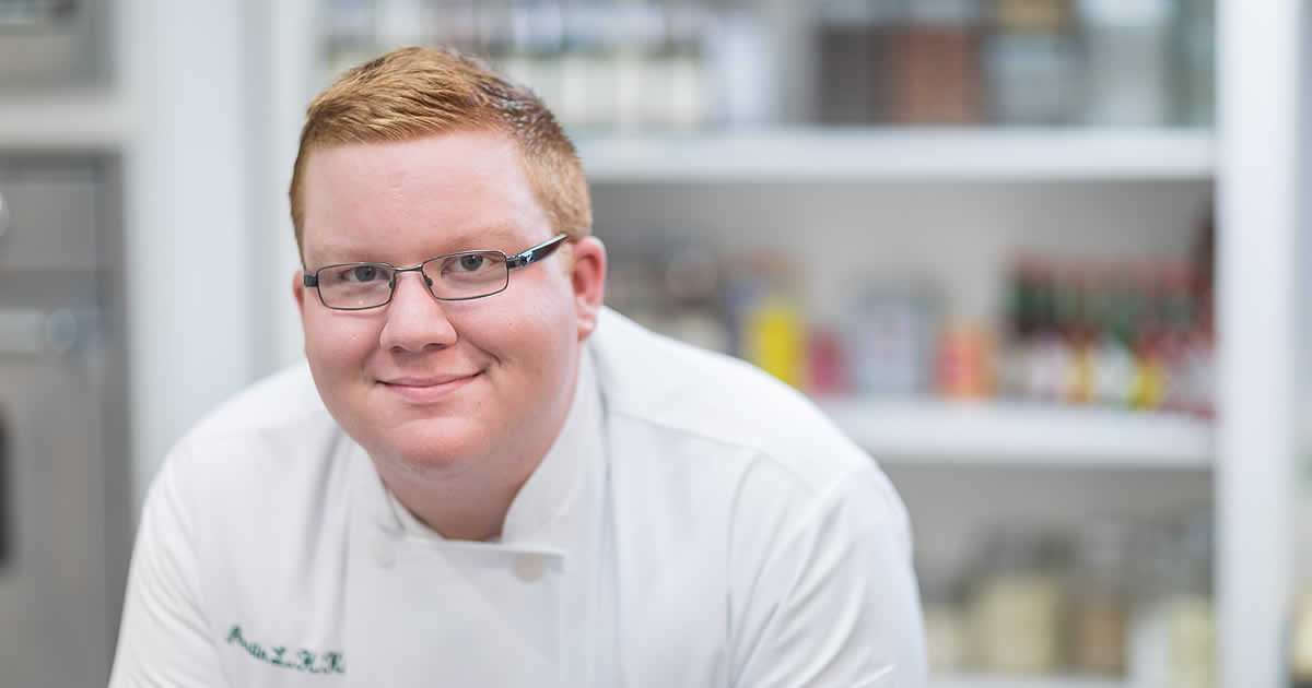 Read about CIA culinary arts student, Austin Kissel.
