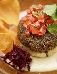 Falafel Challah Burger Recipe