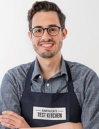 Cook's Illustrated Chef Dan Souza '08, Editor in Chief